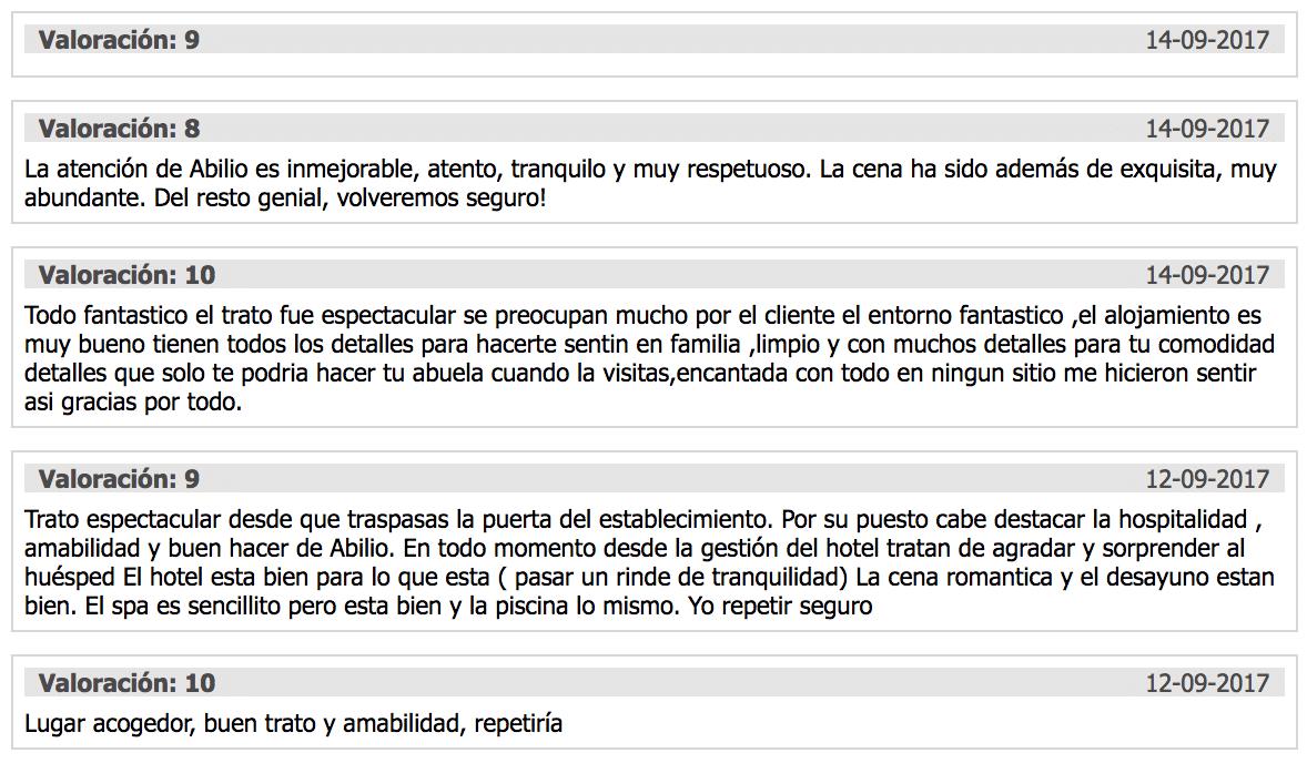 Opiniones Casa Spa Hijos Dalgo tripadvisor